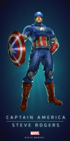 Captain America Steve Rogers - Visit to grab an amazing super hero shirt now on sale! Steve Rogers, Captain America Poster, Marvel Captain America, Hq Marvel, Marvel Heroes, Capitan America Marvel, Marvel Cards, Comic Manga, Manga Anime