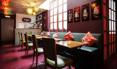 KAI DESIGN. OPIUM. CHINATOWN LONDON. Collaboration with Office Sian