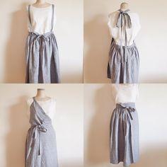 いいね!29件、コメント1件 ― Atelier Y, BLANC+さん(@atelier_yumiozawa)のInstagramアカウント: 「2016/6/4 BLANC+ ギャザー巻きスカートの着こなしいろいろ。 自分のスタイルに合わせてね。 オンラインで販売中…」