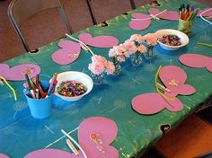 Tinkerbell party activity - make wings