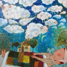 Brushstrokes in the world: Sweet Dreams / Dulces Sueños / Sweet dreams