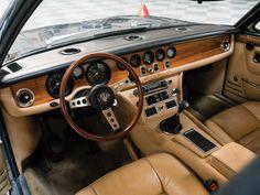 RM Sotheby's - 1971 Maserati Quattroporte Prototipo by Frua Maserati Quattroporte, Car Museum, Dashboards, Car Ins, Old Cars, Motor Car, Porsche, Car Seats, Automobile