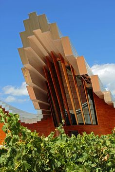 I can't even begin to wrap my head around this winery.. #wine #vinyard #spain    ✮ Ysios Winery - Spain
