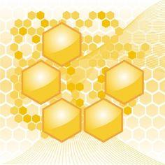 Honeycomb Hexagon Abstract Vector Background