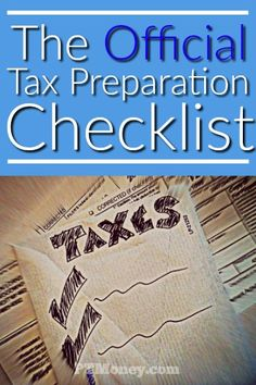 How to file taxes in one afternoon tax online filing and frugal income tax preparation checklist solutioingenieria Gallery