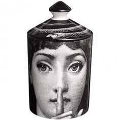 FORNASETTI Silenzio Scented candle found on Polyvore