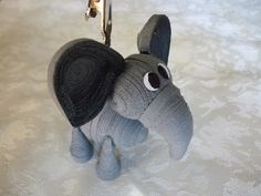 3D quilled elephant