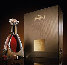 L'Or de Jean Martell Package Design Inspiration