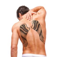Wings 3D Temporary Tattoo - free shipping worldwide