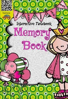 {Interactive Notebook} Memory Book includes 37 pages.This packet has been designed as an interactive notebook so that the students can create their own memory books.It is perfect for 1st grade and 2nd grade.