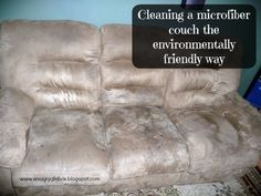 Having kids really puts some real wear and tear on your furniture.  It wasn't too bad when Michael was a baby, we could keep the couch looking nice and clean.…