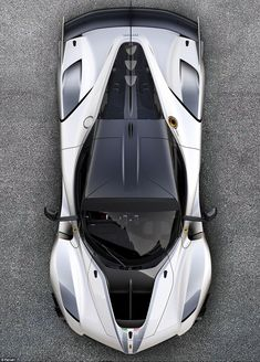 This is what the most powerful Ferrari you can buy looks like - and it has more wings than an RAF station. It's called the FXX-K Evo and is more potent than Ferrari's current Formula One car. Luxury Sports Cars, New Sports Cars, Exotic Sports Cars, Exotic Cars, Sport Cars, Ferrari Laferrari, Maserati, Bugatti, Lamborghini