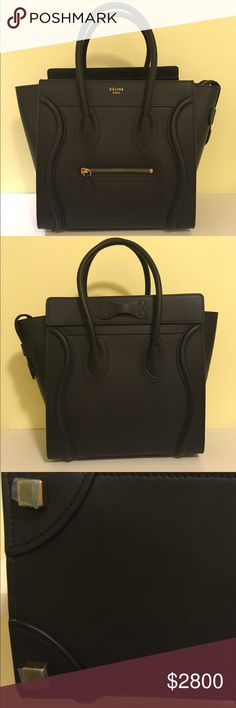 BRAND NEW Celine Mirco! I hate to be obnoxious and put brand new in caps for the title but it is true! I have not used this bag even once (it's been sitting in my closet). It is in perfect condition and comes with dust bag. No trades and not part of bundle. Celine Bags Totes