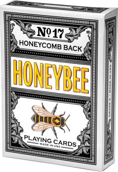 Honeybee Playing Cards #PlayingCards