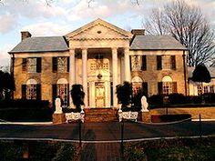 Graceland Memphis TN memphi, favorit place, bucket list, mansion, magical places, elvi presley, homes, elvis presley, graceland