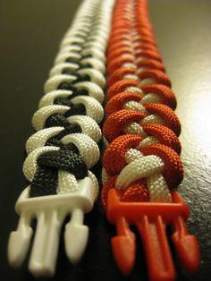 Piranha Knot Paracord bracelet
