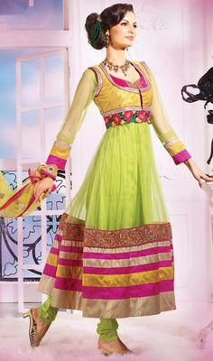 Gorgeous Deep Pink, Mahendi Green  Price: Usa Dollar $108, British UK Pound £64, Euro80, Canada CA$117 , Indian Rs5832.