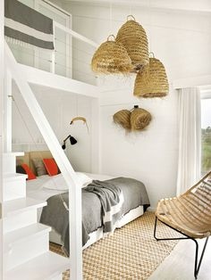 〚 Relaxed design of charming summer cabin in Portugal 〛 ◾ Photos ◾ Ideas ◾ Design #bedroom #beach #Home #interiordesign #homedecor #ideas #inspiration #tips #cozy #living #style #space #interior #decor #home Dream Master Bedroom, Master Bedroom Design, Algarve, Bedroom Furniture, Bedroom Decor, Bedroom Beach, Architectural Digest, Modern Rustic Homes, Beautiful Bedrooms