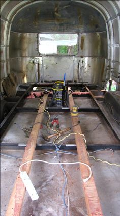 Step-By-Step On-Frame Airstream Floor Removal