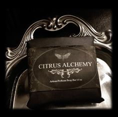 69a6e0c8940e6 Citrus Alchemy 3.5 oz Soap Hand Milled Natural Artisan Gypsy Herbal Orange