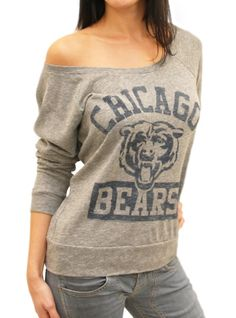 Junk Food Clothing - Women's Collections - NFL - Chicago Bears - Bears
