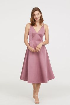 V-neck dress - Dusky pink - Ladies | H&M 2