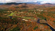 Fall foliage around New Hampshire's White Mountains. From Aerial America. http://www.smithsonianchannel.com/site/sn/show.do?episode=137553