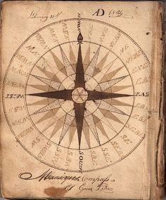 DE UNA CARTA DE NAVEGACIÓN  1804