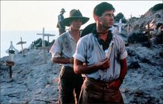 The first of two consecutive films to see director Peter Weir team with Mel Gibson (the other being The Year of Living Dangerously), Gallipoli follows two idealistic young friends, Frank (Gibson) and Archy (Mark Lee), who join the Australian army during World War I and fight the doomed Battle of Gallipoli in Turkey.
