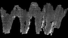 Grâce à une nouvelle technique d'imagerie médicale, des chercheurs sont parvenus à déchiffrer un parchemin...