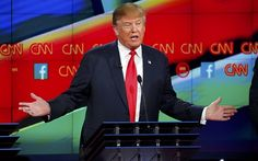Donald Trump win the Republican debate