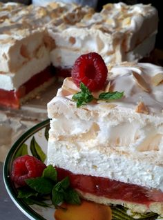 Polish Recipes, Camembert Cheese, Creme, Food And Drink, Pie, Cooking, Desserts, Cheesecake, Vans