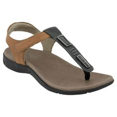 9ec7b304df1a Taos Storyteller Black Tan Sandals