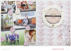 Today You (Scrapbook Kit + PL Kits) by AliEdwards at @Studio_Calico - mixing Project Life & scrapbook layouts #SCcamelot