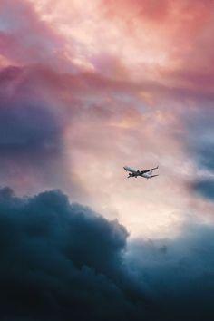 Travel  #relax #plane #sky #sunset