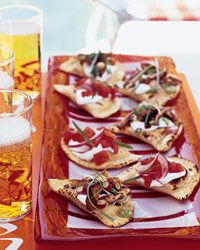 Pierogi Crostini, with Two Toppings  - Bruschetta and Crostini from Food & Wine