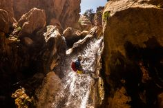 Canyoning .. Beni Mellal .... Atlas of Morocco