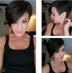 Short Hair Pixie Cut Styles