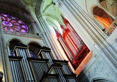 Collégiale de Mantes-la-Jolie #orgue #danion #interieur