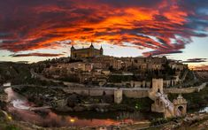 """SPAIN / Cities, towns, landscapes - Toledo is the heart and soul of Spain. For centuries, Christians, Jews, and Muslims flourished in a """"city of three cultures"""" and built a dazzling array of churches, convents, palaces, fortresses, synagogues, and mosques. Wander the atmospheric narrow lanes, relax in quiet courtyards, and visit artisan shops tucked away in little alleys."""