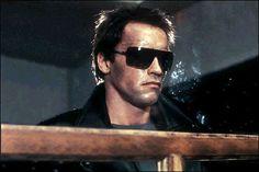0c6830acdc41 Arnold Schwarzenegger wearing Gargoyles ANSI Classics sunglasses in  Terminator