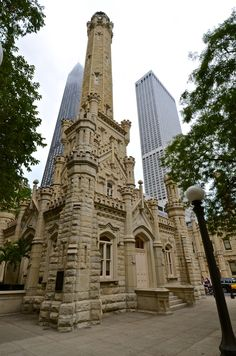 Chicago Water Tower by 415 510, via 500px