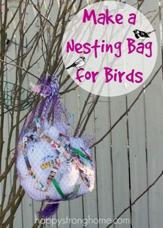 yarn clippings for birds - 600×840
