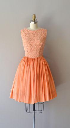 vintage 50s dress   Hit Parade dress