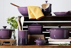 Le Creuset - Can return if wears out and they replace for free...