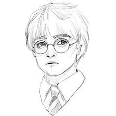 potter harry easy drawings drawing draw sketch sketches characters pencil disney hermione cool granger step harrypotter painting memes rocks