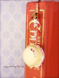 Macaron Jewelry Necklace/Key Chain /Bag Charm/BookMark by Siawlei, $18.80