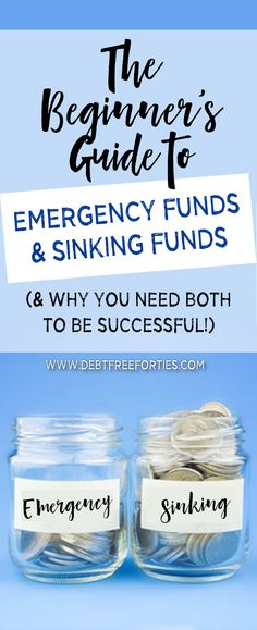 You've probably heard that you need a starter emergency fund of $1,000. You may have also heard some talk about sinking funds. But what exactly is the difference between these? And why do you need more than one account? Lastly, if you're drowning in debt, isn't everything an emergency at this point?