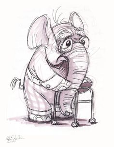 The Ol' Sketchbook: Animal sketches