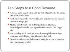 How To Write A Job Resume Resume Title Examples Of Resume Titles Resume  Sample First Job .